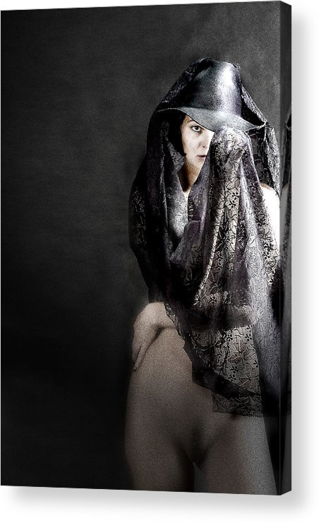 Acrylic Print featuring the photograph Femme Fatale by Zygmunt Kozimor