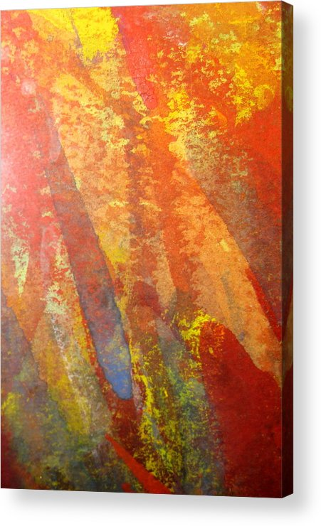 Fire Acrylic Print featuring the photograph Firedance by Belinda Consten