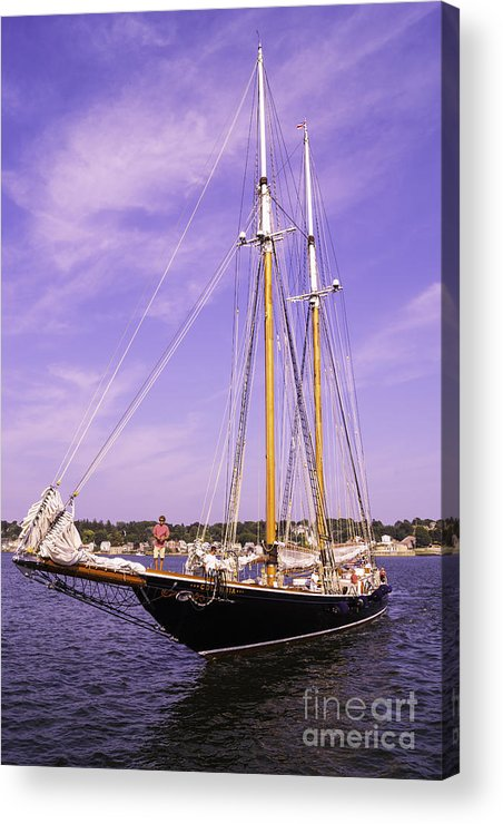 Atlantic Acrylic Print featuring the photograph First Arrival by Joe Geraci