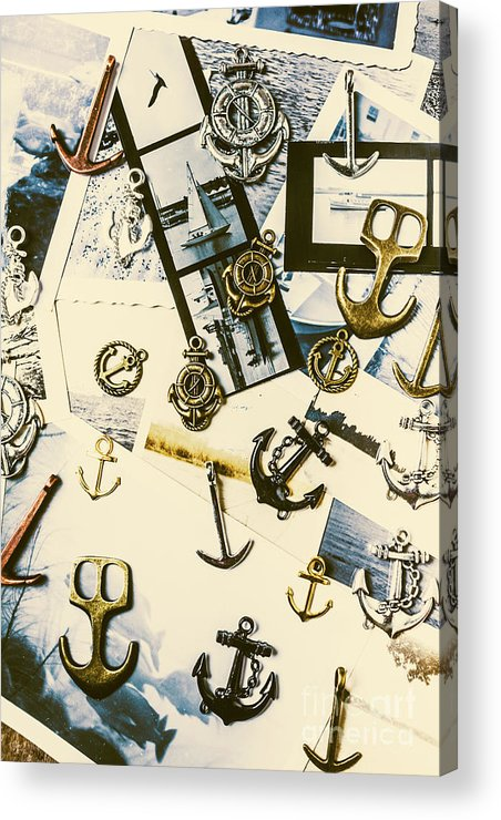 Anchor Acrylic Print featuring the photograph Fishermans Iconography by Jorgo Photography - Wall Art Gallery