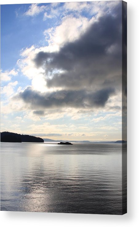Clouds Acrylic Print featuring the photograph For Grandma by Michael Lee