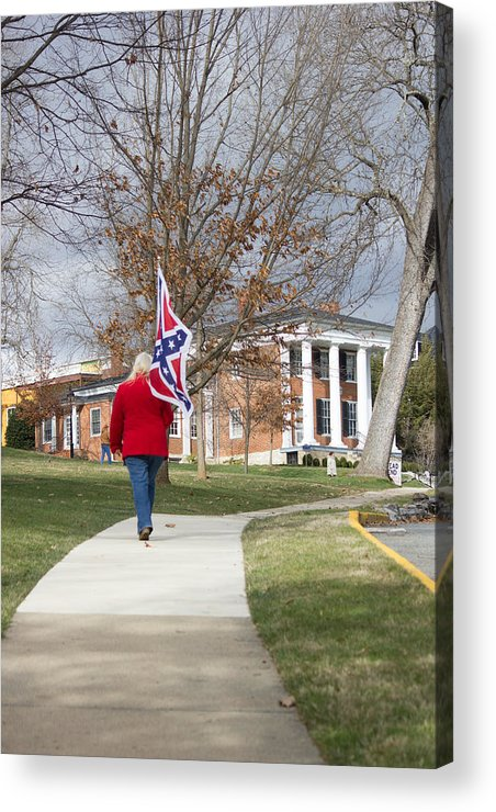 Confederate Acrylic Print featuring the photograph Forward by Judy Smith