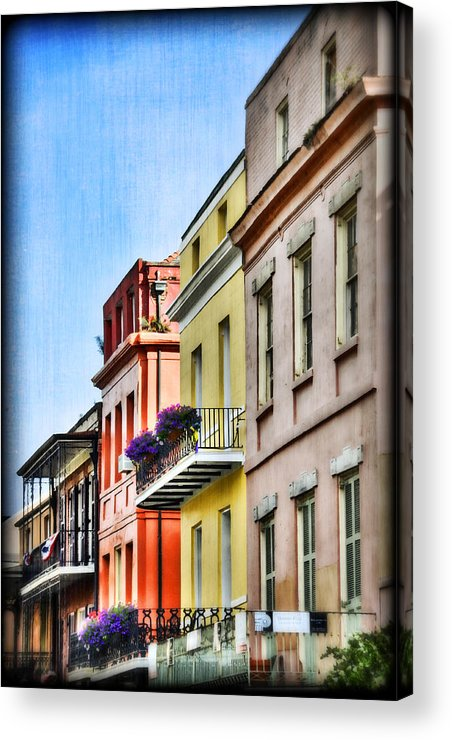 Nola Acrylic Print featuring the photograph French Quarter In Summer by Tammy Wetzel