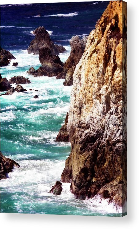 Photo Acrylic Print featuring the photograph Garrapata Highlands 7 by Alan Hausenflock