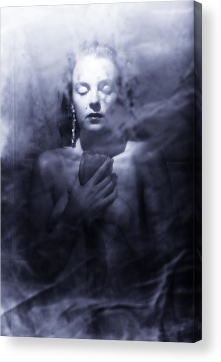 Woman Acrylic Print featuring the photograph Ghost Woman by Scott Sawyer