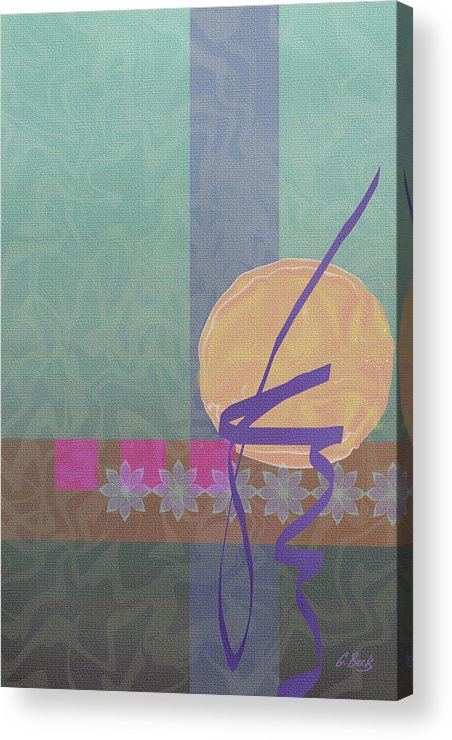 Contemporary Acrylic Print featuring the digital art Good Fortune by Gordon Beck