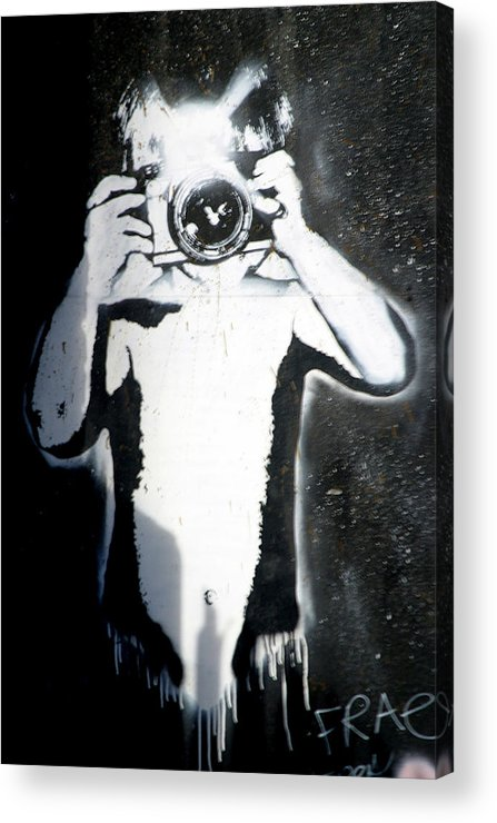 Jez C Self Acrylic Print featuring the photograph Got Yer by Jez C Self