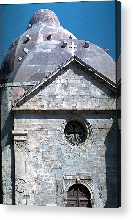Greek Orthodox Church Acrylic Print featuring the photograph Greek Orthodox Church by Flavia Westerwelle