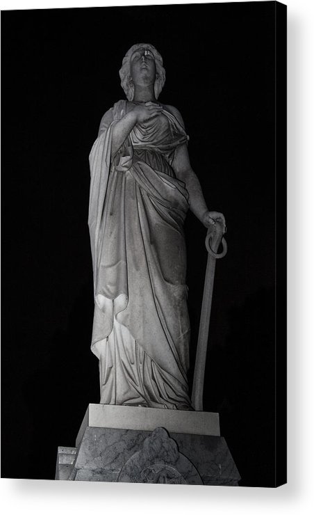 Stone Acrylic Print featuring the photograph Guard by Scarlet Starr