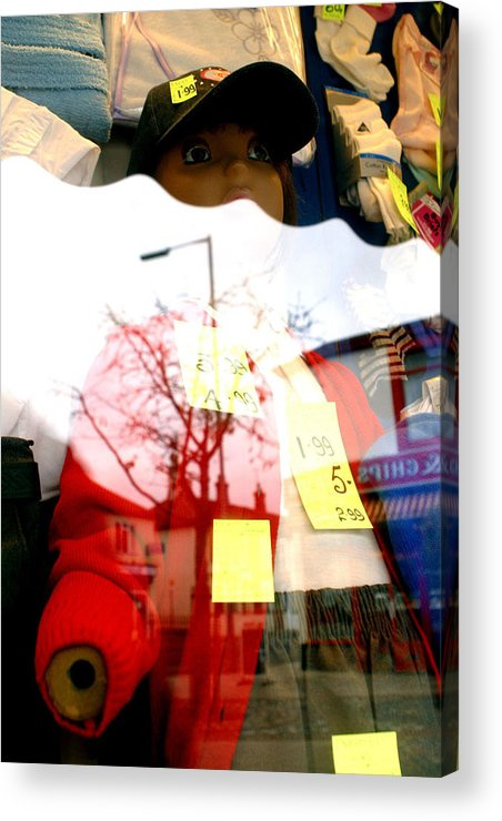 Jez C Self Acrylic Print featuring the photograph Half Of Me Is All That Is Left by Jez C Self