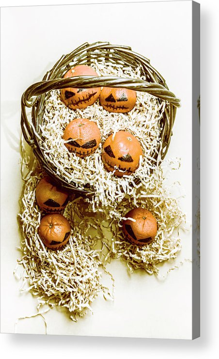 Halloween Acrylic Print featuring the photograph Halloween Food Decoration by Jorgo Photography - Wall Art Gallery