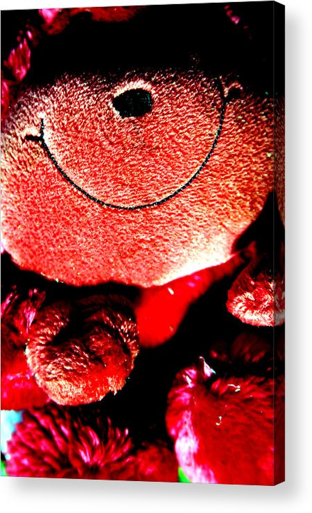Photographer Acrylic Print featuring the photograph Happy To Be Red by Jez C Self