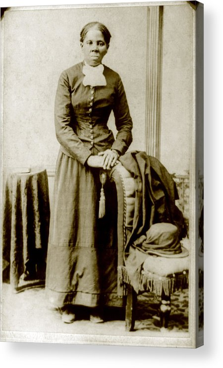 19th Century Acrylic Print featuring the photograph Harriet Tubman, Ca. 1860-75 by Everett