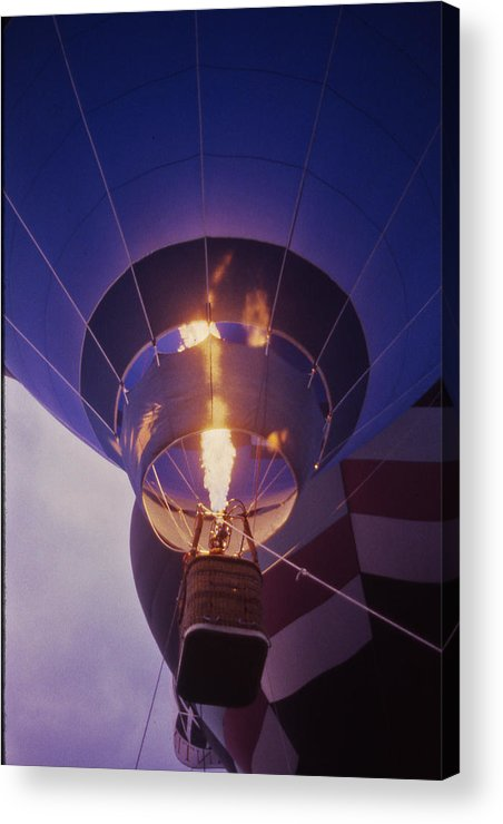 Tennessee Acrylic Print featuring the photograph Hot Air Balloon - 2 by Randy Muir