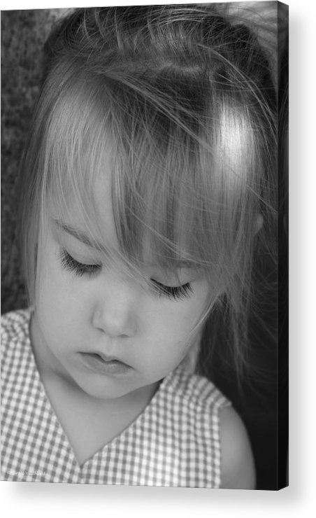Angelic Acrylic Print featuring the photograph Innocence by Margie Wildblood