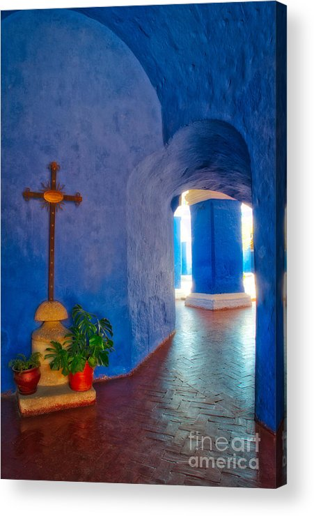 Santa Acrylic Print featuring the photograph Inside Santa Catalina by Colin Woods