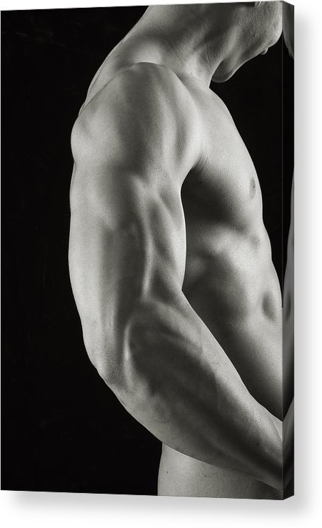 Male Acrylic Print featuring the photograph Intricacies by Thomas Mitchell