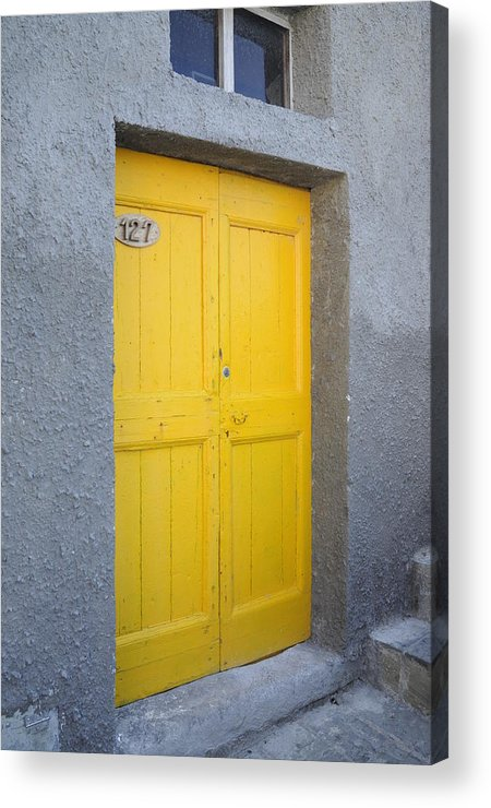 Europe Acrylic Print featuring the photograph Italy - Door Three by Jim Benest
