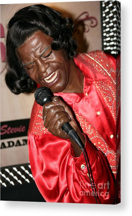 James Brown Acrylic Print featuring the photograph James Brown by Sophie Vigneault