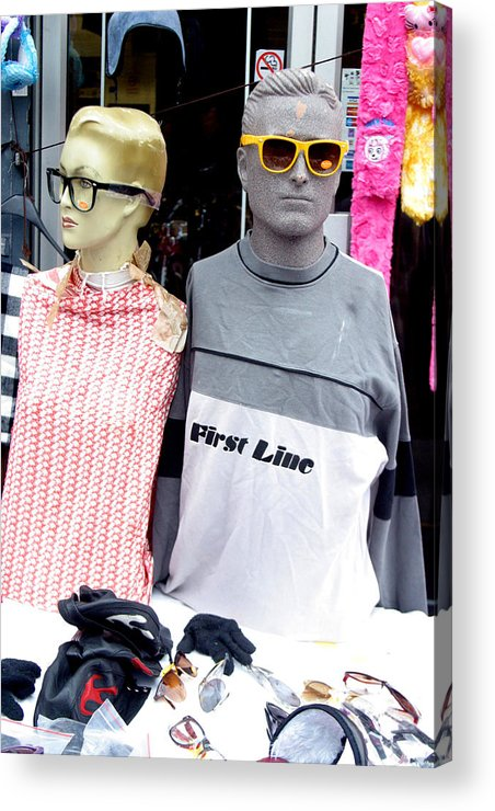 Jez C Self Acrylic Print featuring the photograph Keeping An Eye Out For Punters by Jez C Self