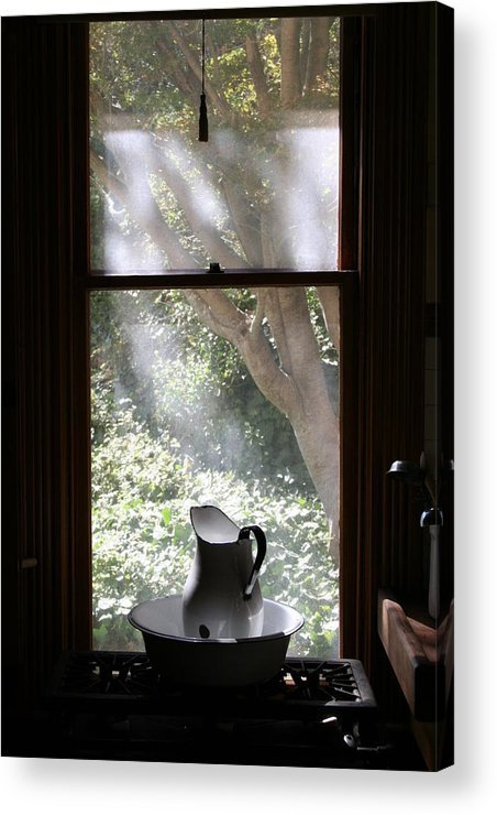 Still Life Acrylic Print featuring the photograph Kitchen Window by Brande Barrett