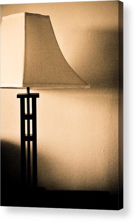 Lamp Acrylic Print featuring the photograph Lamp by Roberto Bravo