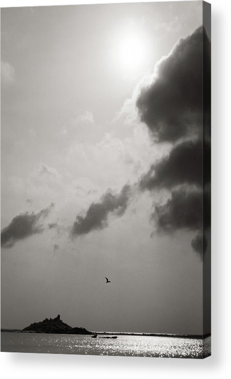 Abstract Acrylic Print featuring the photograph Light Of The Sky by Konstantin Dikovsky