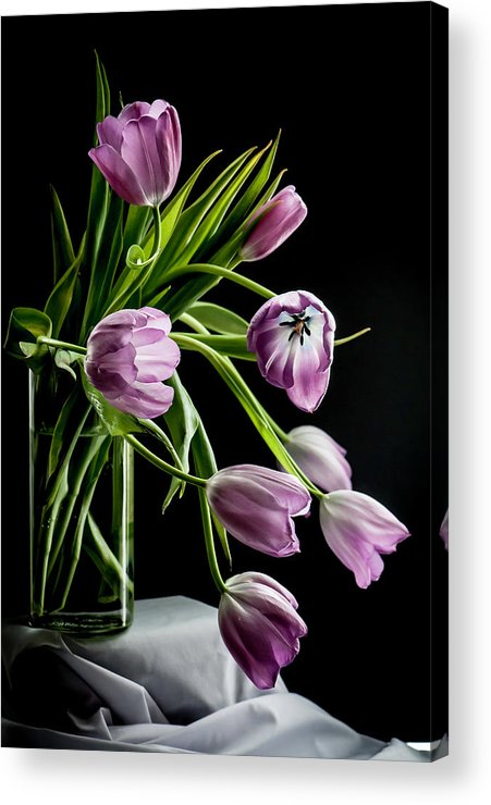 Still Life Acrylic Print featuring the photograph Light Swept by Maggie Terlecki