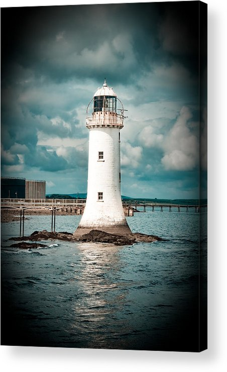 Lighthouse Acrylic Print featuring the photograph Lighthouse by Gabriela Insuratelu