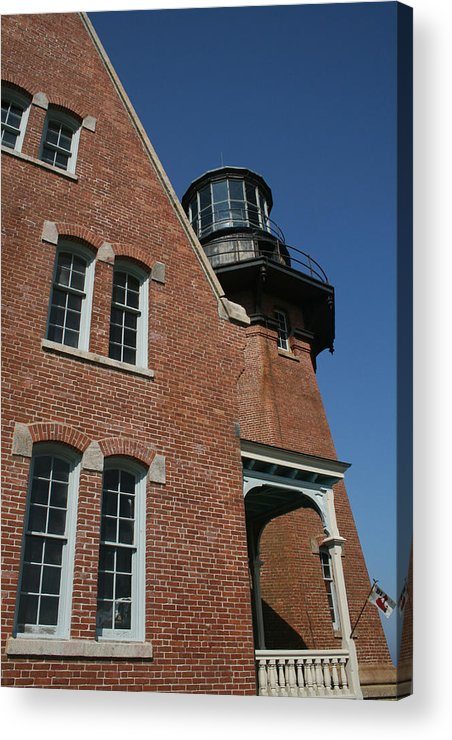 Lighthouse Acrylic Print featuring the photograph Lighthouse I by Jeff Porter