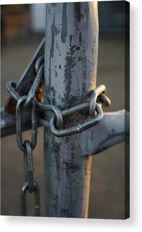 Metal Acrylic Print featuring the photograph Locked by Sherry Klander