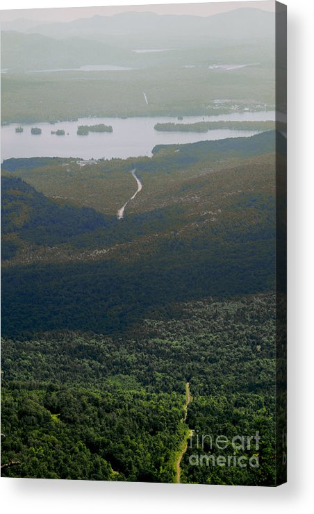 Lake Acrylic Print featuring the photograph Long Road Ahead by Shannon Ireland
