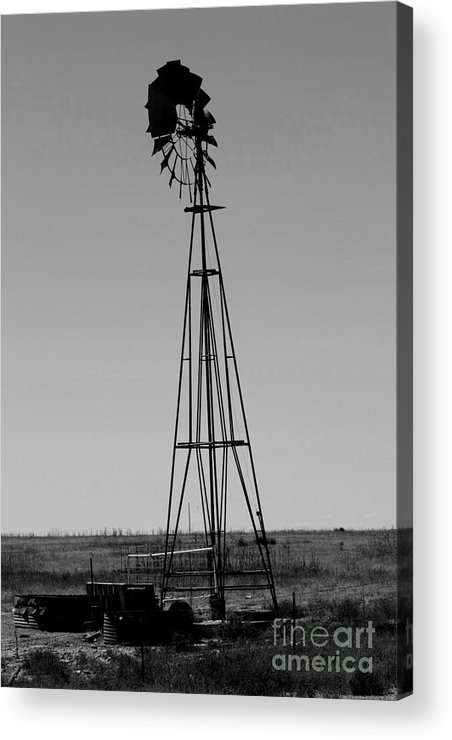 Sante Fe Trail Acrylic Print featuring the photograph Lost Breeze by Tommy Anderson