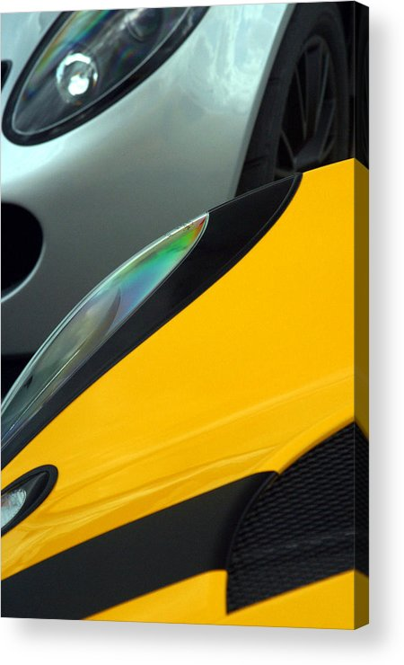Photographer Acrylic Print featuring the photograph Lotus 7 by Jez C Self
