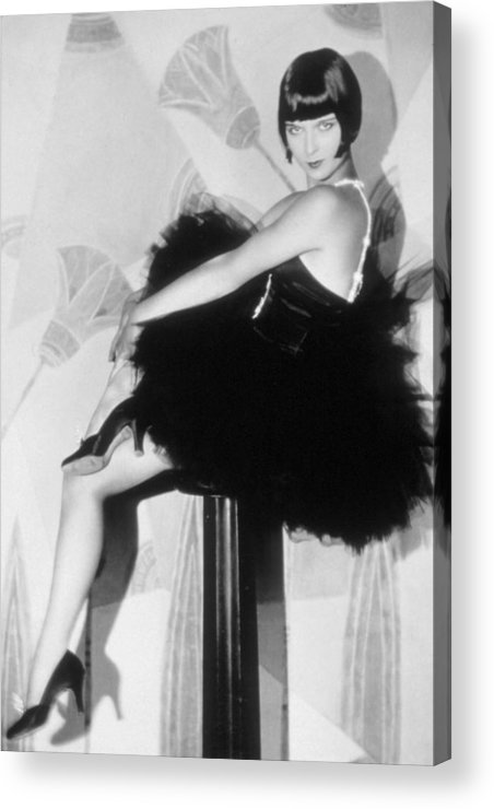 1920s Fashion Acrylic Print featuring the photograph Louise Brooks, C. 1929 by Everett