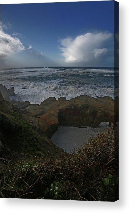 Pacific Ocean Acrylic Print featuring the photograph Magnificence by Bonnie Bruno