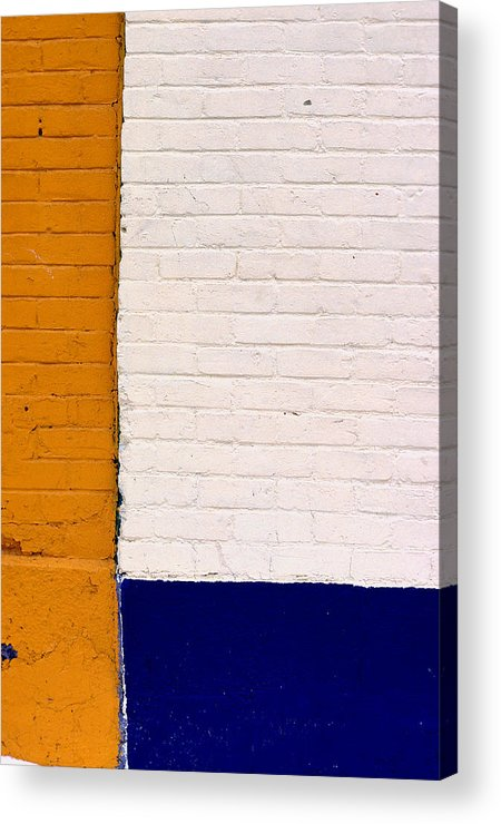 Montreal Acrylic Print featuring the photograph Montreal Ochre by Art Ferrier