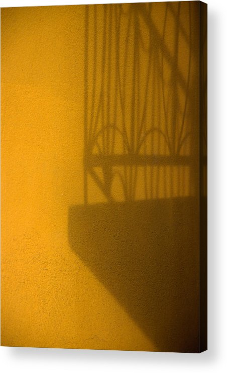 Montreal Acrylic Print featuring the photograph Montreal Shadow 1 by Art Ferrier