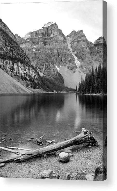 Moraine Lake Acrylic Print featuring the photograph Moraine Lake by Angie Schutt