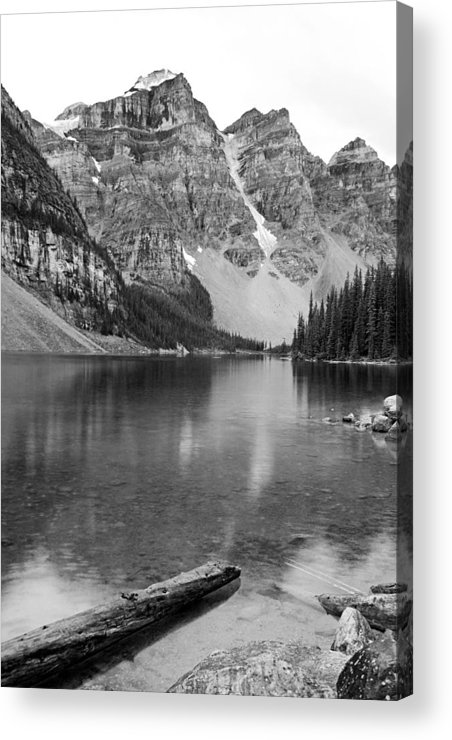 Moraine Lake Acrylic Print featuring the photograph Moraine Lake II by Angie Schutt