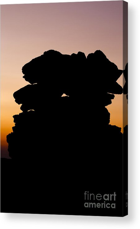 White Mountains Acrylic Print featuring the photograph Mount Washington - New Hampshire Usa Sunset by Erin Paul Donovan