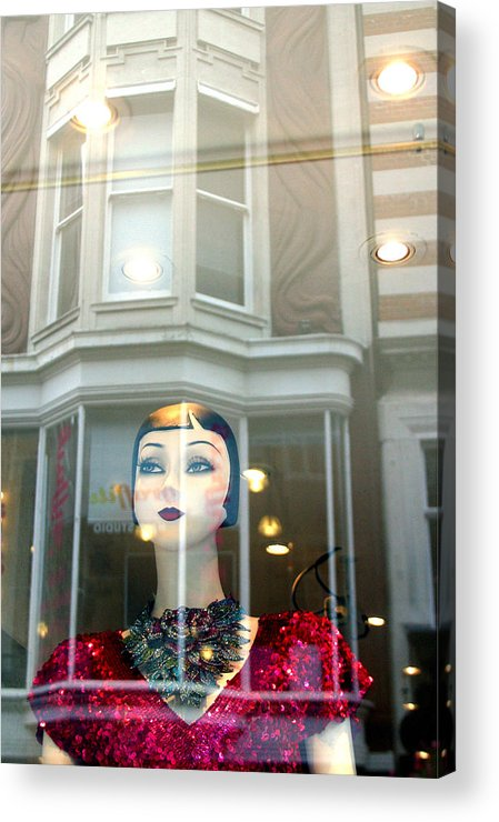 Jez C Self Acrylic Print featuring the photograph My Shop And I Say Who Comes In by Jez C Self