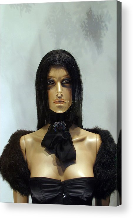 Jez C Self Acrylic Print featuring the photograph My Top Half Is Just As Good by Jez C Self