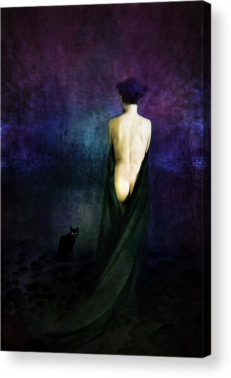 Acrylic Print featuring the photograph Night Of Suicides by Zygmunt Kozimor
