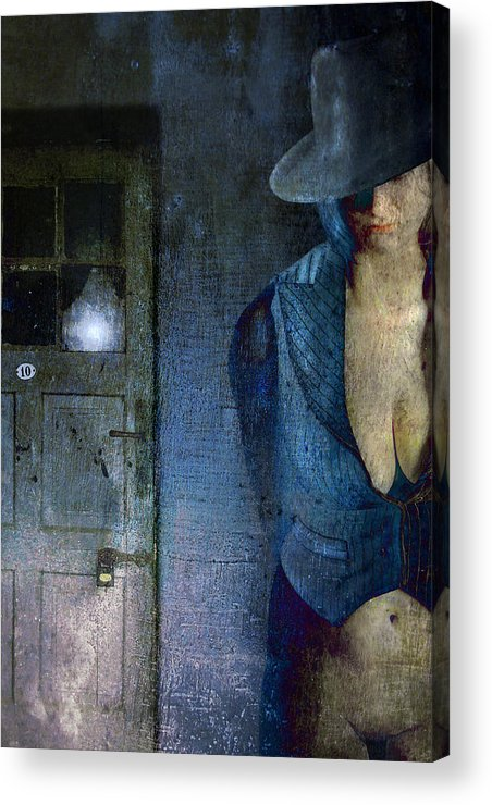 Acrylic Print featuring the photograph No Return After Midnight by Zygmunt Kozimor