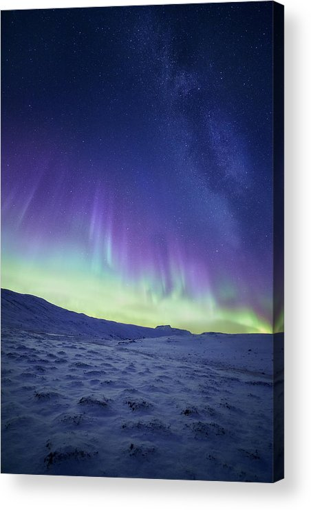 Northern Lights Acrylic Print featuring the photograph Northern Light by Tor-Ivar Naess