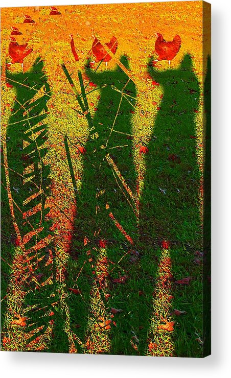 Body Acrylic Print featuring the photograph Odd Body Parts by Lee M Plate