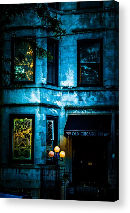 Old Chicago Inn Acrylic Print featuring the photograph Old Chicago Inn by Rosette Doyle