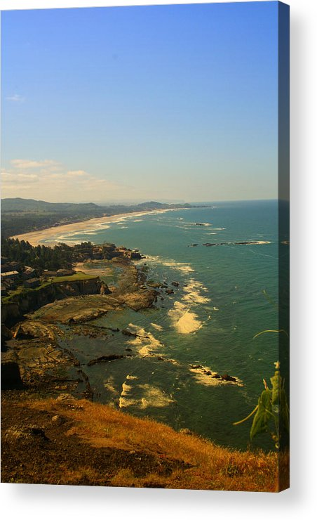 Coast Acrylic Print featuring the photograph Oregon Coast Oo61 by Mary Gaines