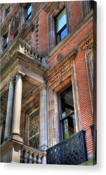 New York Acrylic Print featuring the photograph Park Avenue Building by Kelly Wade